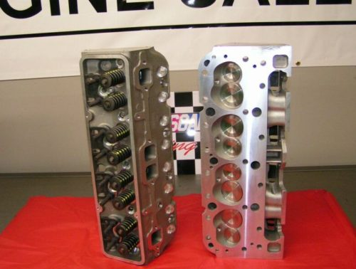 Chevy Aluminum 350 Cylinder Heads 64cc 2.02/1.60